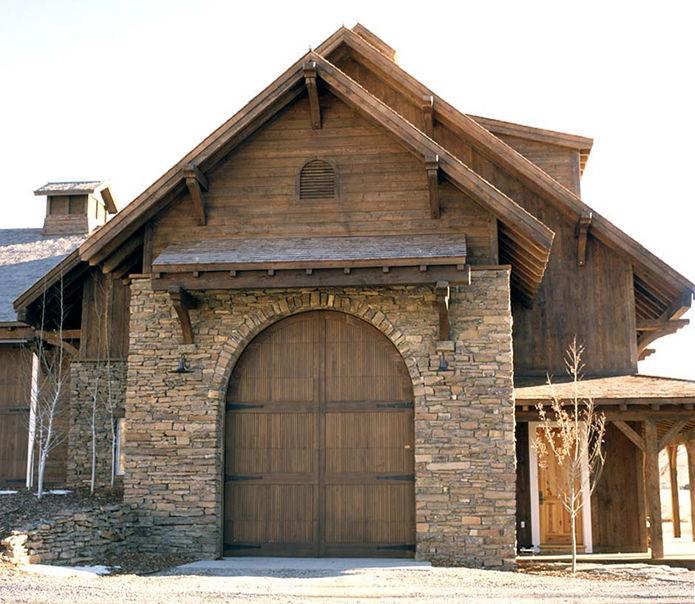 25 Awesome Garage Door Design Ideas: Custom Wood Garage Doors By Montana Rustics